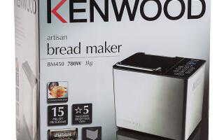 Хлебопечка kenwood bm450 рецепти житнього хліба