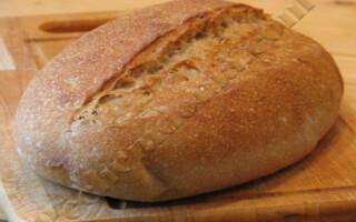 Рецепт французького хліба на заквасці