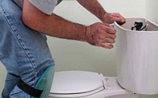 як полагодити туалетний бачок з поплавком