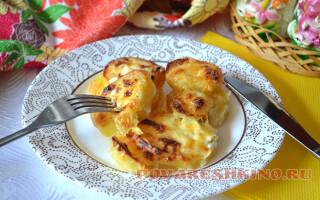Картопля під соусом бешамель