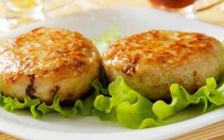 Котлети з курячого фаршу рецепт на сковороді з хлібом