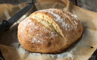 Рецепт хліба без рослинного масла