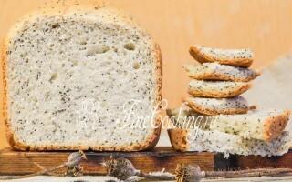 Хліб з маком в хлібопічці рецепти