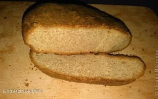Хлеб на кефирной закваске без дрожжей рецепт