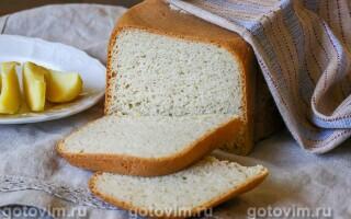 Картопляний хліб в хлібопічці рецепт з фото