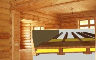 Як зробити підлогу в дерев'яному будинку