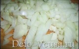 Начинка з картоплі