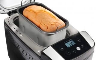 Рецепт хліба для хлібопічки горенье