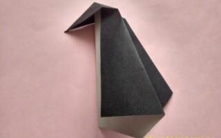 Як зробити пінгвіна з паперу