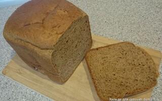 Норвезька хліб в хлібопічці рецепт