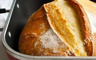 Рецепт пшеничного хліба