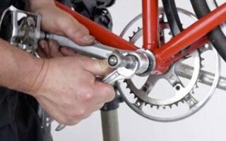 як полагодити каретку на велосипеді