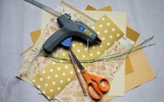 Як зробити квітку з паперу А4