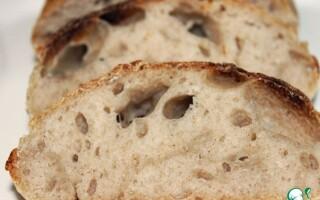 Хліб на заквасці рецепт від Егіна