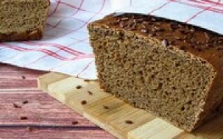 Хліб на сухий заквасці рецепт