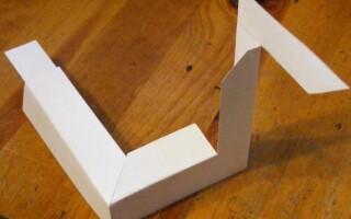 Як зробити трикутник з паперу