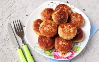 Рецепт котлет з фаршу яловичини і свинини з хлібом
