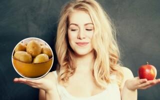 Відвар картоплі калорійність