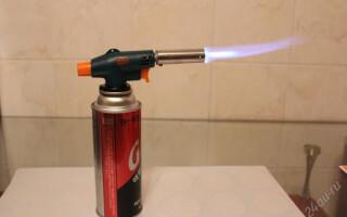 як відремонтувати газовий пальник