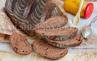 Рецепт шоколадного хліба