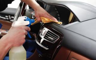 Як зробити хімчистку салону автомобіля своїми руками