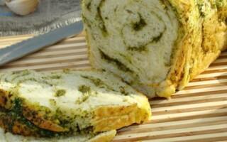 Часниковий хліб в духовці рецепт з фото