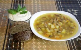 Як зробити грибний суп