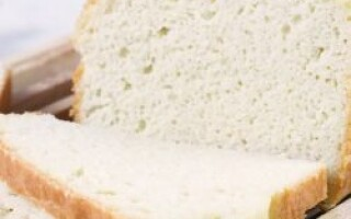 Кето хліб з кунжутної борошна рецепт