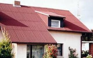 як відремонтувати дах з ондуліна своїми руками