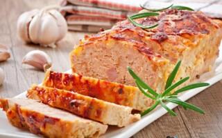 Курячий м'ясної хліб в духовці рецепт