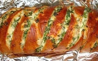 Хліб на багатті в фользі рецепт