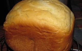 Хліб на майонезі в духовці рецепт