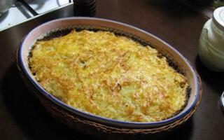 Печінкова запіканка в духовці рецепт з картоплею