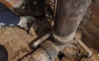 як відремонтувати чавунну каналізаційну трубу
