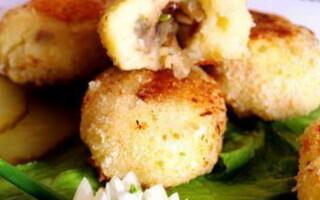 Рецепт пісних зраз з картоплі
