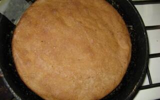 Рецепт чисто житнього хліба