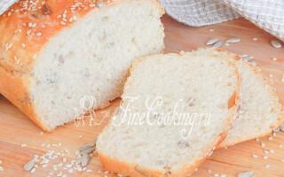 Хліб з насінням рецепт в духовці