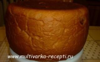 Солодкий хліб в мультиварці рецепти прості