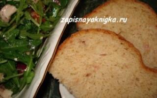 Хліб з висівками в хлібопічці Панасонік 2501 рецепти