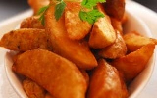 Картопля по селянськи в духовці як в Макдональдсі