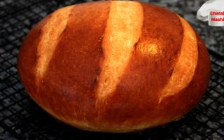 Хліб за п'ять хвилин рецепт