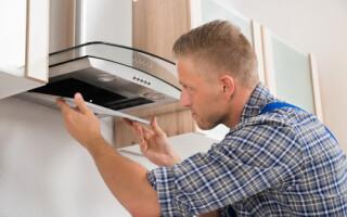 як полагодити витяжку на кухні