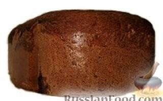 Рецепт заварного житнього хліба на дріжджах