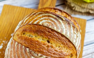 Хліб Тартіні на заквасці рецепт