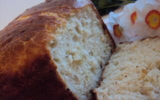 Рецепт картопляного хліба в духовці з цибулею
