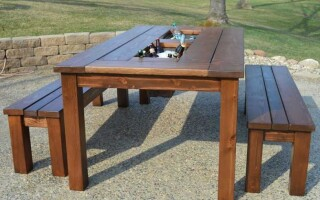 Як зробити стіл своїми руками з дерева