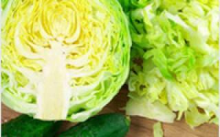 Як зробити салат зі свіжої капусти