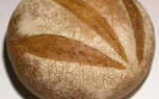 Хліб білий подовий рецепт