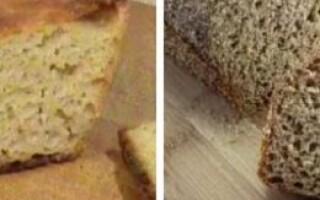 Хліб без борошна рецепт для духовки