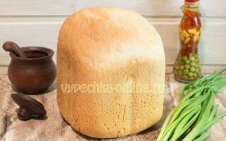 Хліб в хлібопічці рецепти прості з дріжджами